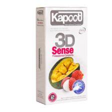 کاندوم سه بعدی کاپوت مدل 3D Sense