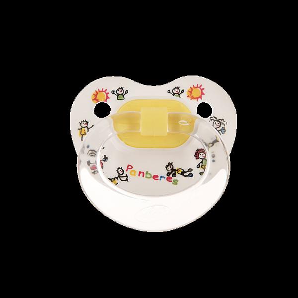 پستانک ارتودنسی سایز ۱ پنبه ریز  مخصوص نوزادان ۰ تا ۶ ماه