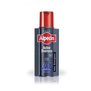 شامپو اکتیو A1 آلپسین مناسب موهای خشک و معمولی ۲۵۰ میلی لیتر