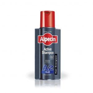 شامپو اکتیو A2 آلپسین مناسب موهای چرب 250 میلی لیتر