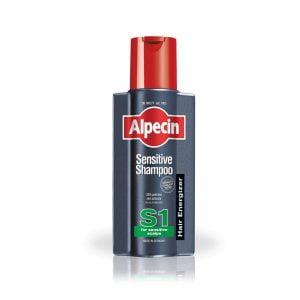 شامپو سنسیتیو S1 آلپسین مناسب موهای حساس، شکننده و رنگ شده ۲۵۰ میلی لیتر