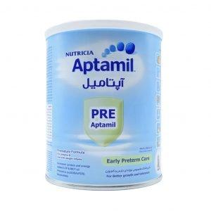 شیر خشک آپتامیل پره نوتریشیا مخصوص نوزادان نارس ۴۰۰ گرم