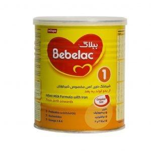 شیر خشک ببلاک ۱ میلوپا مناسب از بدو تولد به بعد ۴۰۰ گرم