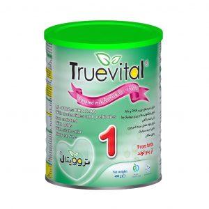 شیر خشک تروویتال ۱ مخصوص ۰ تا ۶ ماه ۴۰۰ گرم