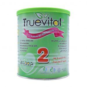 شیر خشک تروویتال ۲ مناسب ۶ ماه به بعد ۴۰۰ گرم