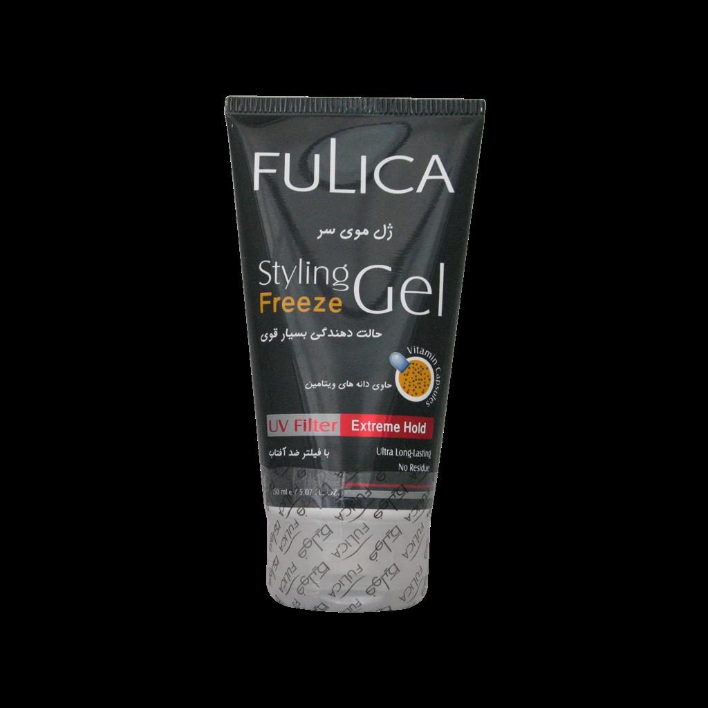 ژل مو حالت دهنده بسیار قوی فولیکا مناسب انواع مو