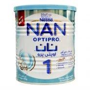 شیر خشک نان ۱ نستله مناسب نوزادان ۰ تا ۶ ماه ۴۰۰ گرم