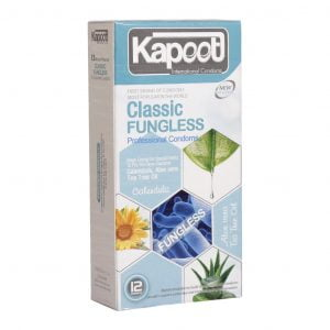 کاندوم کاپوت مدل Classic Fungless تعداد 12 عدد
