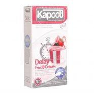 کاندوم تاخیری کاپوت مدل Delay Fruity Cream