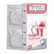 کاندوم تاخیری کاپوت مدل Delay Fruity Cream تعداد 12 عدد