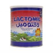 شیر خشک لاکتومیل ۲ مخصوص شیرخواران از ۶ ماهگی ۴۰۰ گرم