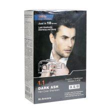 شامپو رنگ موی مردانه خاکستری تیره فاربن