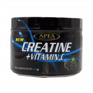عضله سازی کراتین+ ویتامین C اپکس