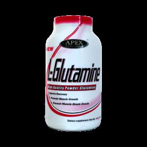 پودر عضله سازی ال گلوتامین اپکس ۳۰۰ گرم