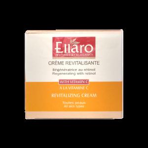 کرم احیا کننده و شاداب کننده حاوی ویتامین C الارو مناسب انواع پوست ۵۰ میلی لیتر