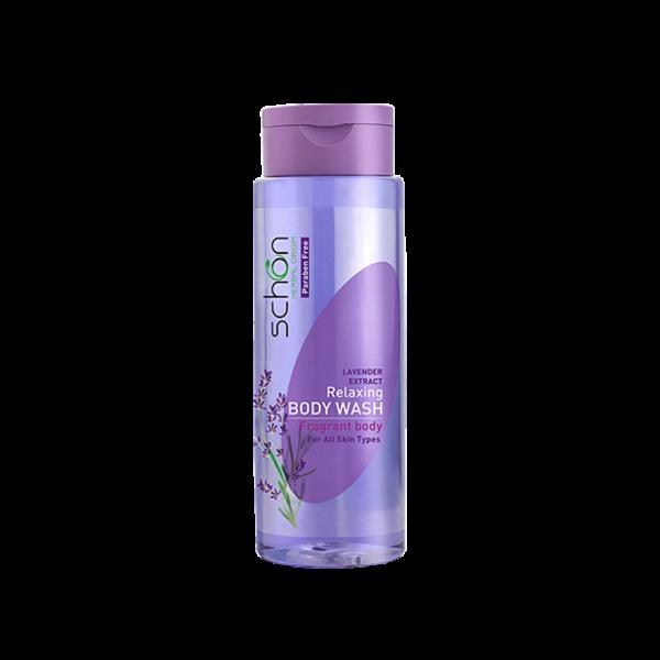 شامپو بدن اسطوخودوس شون مناسب انواع پوست ۴۲۰ میلی لیتر