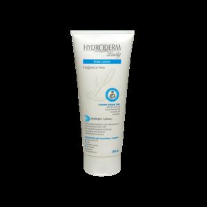 لوسیون بدن هیدرودرم مناسب پوست های خشک و خیلی خشک ۲۰۰ گرم