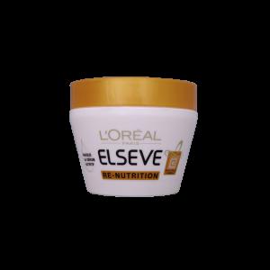 ماسک مو لورآل مدل ری نوتریشن مناسب موهای خشک ۳۰۰ میلی لیتر