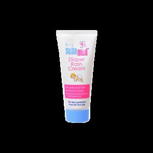 کرم ادرار سوختگی پای کودک سبامد مناسب پوست حساس ۱۰۰ میلی لیتر
