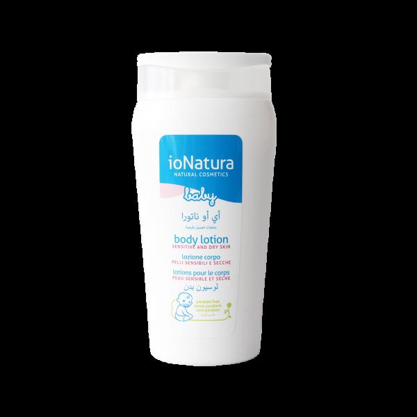 لوسیون بدن کودک ایو ناتورا مناسب پوستهای حساس و خشک ۲۰۰ میلی لیتر