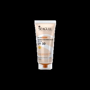 ضد آفتاب رنگی فاقد چربی سی گل SPF30 مناسب پوست های چرب و معمولی ۴۰ میلی لیتر