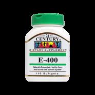 کپسول ژلاتینی ویتامین E 400 واحد ۲۱ سنتری