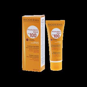 کرم ضد آفتاب فتودرم مکس SPF100 بایودرما مناسب پوست های معمولی تا خشک ۴۰ میلی لیتر