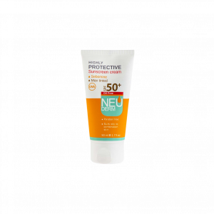 کرم ضد آفتاب فاقد چربی هایلی پروتکتیو نئودرم ⁺SPF50 مناسب پوست های مختلط و چرب ۵۰ میلی لیتر