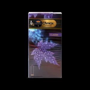 کاندوم ساده کلیماکس مدل Classic بسته ۱۲عددی