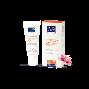 کرم ضد آفتاب آیسیس فارما SPF80 مناسب پوست های خیلی حساس ۴۰ میلی لیتر