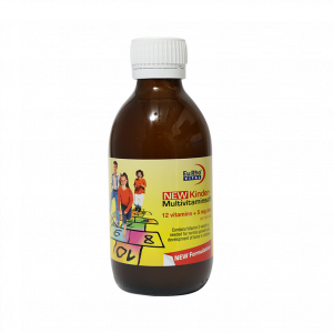 شربت کیندر مولتی ویتامین یوروویتال ۲۰۰ میلی لیتر
