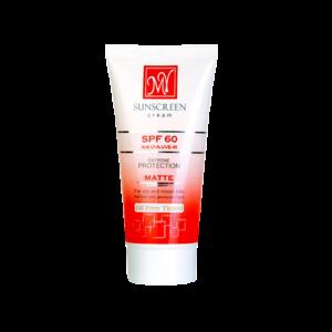 کرم ضد آفتاب فاقد چربی SPF60 مای مناسب پوست های چرب و مختلط ۵۰ میلی لیتر