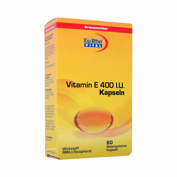 کپسول ویتامین E 400 یوروویتال