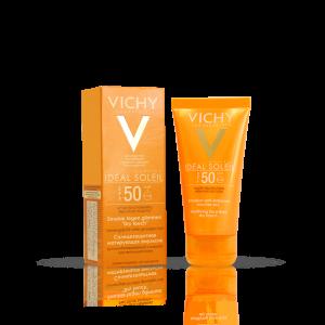 بی بی کرم ویشی مدل dry touch با ⁺SPF50 مناسب پوست های چرب و مختلط ۵۰ میلی لیتر