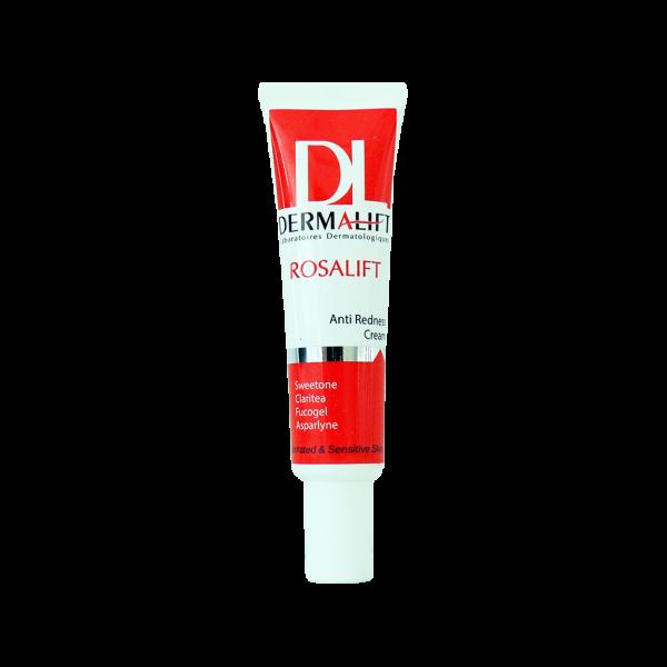 کرم ضد قرمزی رزالیفت درمالیفت مناسب پوست های حساس و ملتهب ۳۰ میلی لیتر