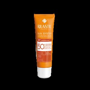 کرم ضد آفتاب ریلاستیل +SPF50 مناسب پوست های معمولی تا خشک ۵۰ میلی لیتر