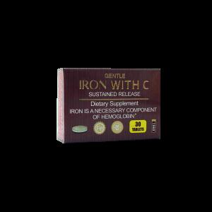 قرص آهن با ویتامین C برانسون ۳۰ عددی