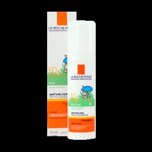 لوسیون ضد آفتاب نوزادان آنتلیوس لاروش پوزای +SPF50 حجم ۵۰ میلی لیتر