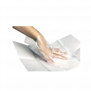 دستکش یکبار مصرف یاسین سایز استاندارد ۱۰۰ عددی