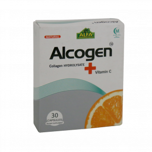 کپسول آلکوژن با ویتامین C آلفا ویتامینز ۳۰ عددی
