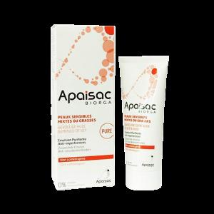 امولسیون ضد جوش پیور اپزک بایورگا مناسب پوست های چرب، مختلط و حساس ۴۰ میلی لیتر