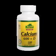 قرص کلسیم 600 و ویتامین D آلفا ویتامینز
