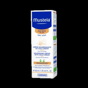 کرم تغذیه کننده صورت موستلا حاوی کلد کرم مناسب پوست خشک ۴۰ میلی لیتر