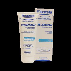 کرم مرطوب کننده استلاتوپیا موستلا مناسب پوست خشک ۲۰۰ میلی لیتر
