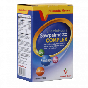 کپسول نرم ساوپالمتو کمپلکس ویتامین هوس ۳۰ عددی