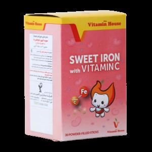 سوییت آیرون با ویتامین C ویتامین هوس ۳۰ ساشه