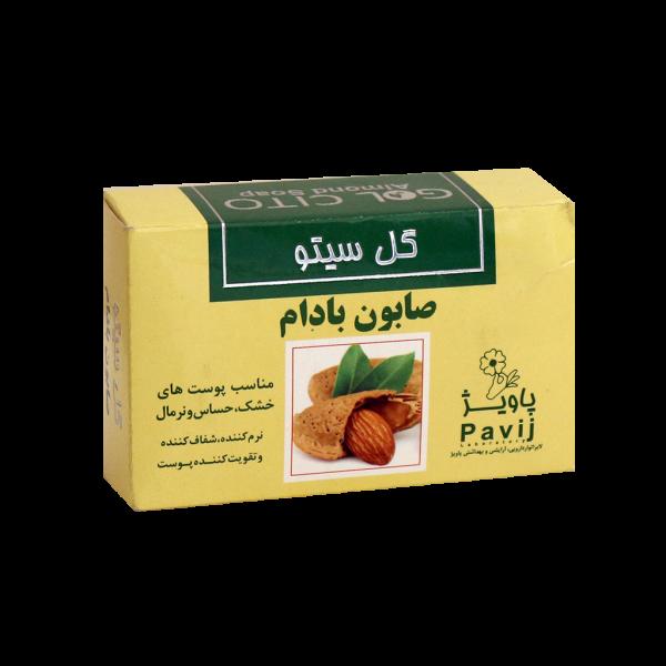 صابون بادام گل سیتو ۱۰۰ گرم