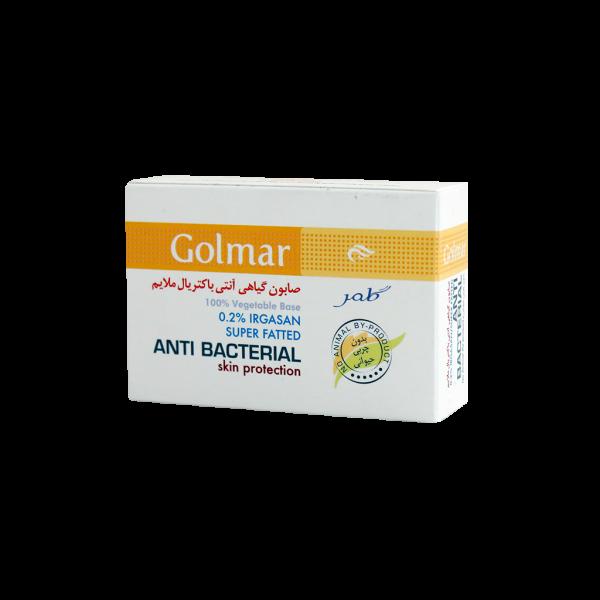 صابون گیاهی آنتی باکتریال ملایم گلمر ۱۱۵ گرم