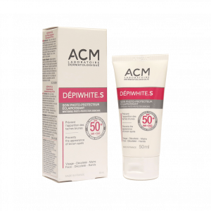 کرم ضد آفتاب دپی وایت اس SPF50 ای سی ام مناسب پوست معمولی و مختلط ۵۰ میلی لیتر