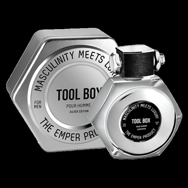 ادوتویلت مردانه امپر مدل Tool Box Silver Edition حجم ۱۰۰ میلی لیتر